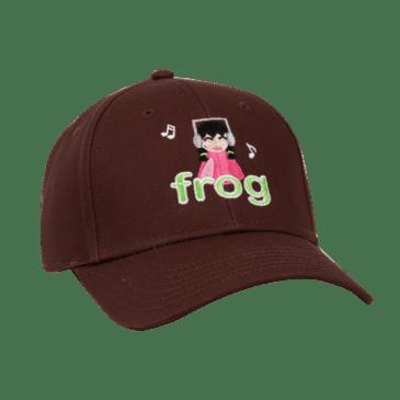 Frog Skateboards I'm Not Listening Hat - Brown