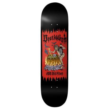 Deathwish Jon Dickson Death Wichz Skateboard Deck - 8.38