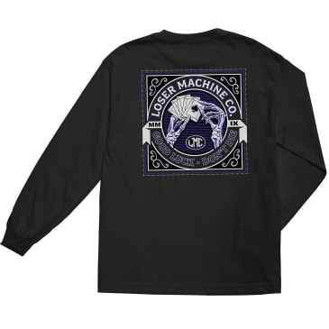 Loser Machine Slow Hand Long Sleeve T-Shirt | Black