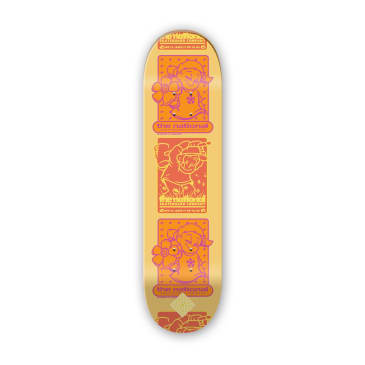 "The National Skateboard Co. - 8.375"" Bobby Engvall Hook Up Skateboard Deck - (High Concave)"