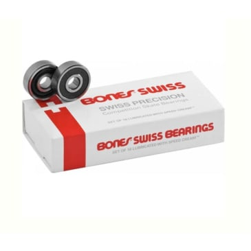 Bones Swiss Precision Competition Skate Bearings Set of 16
