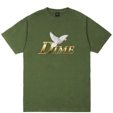Dime Fry Dove T-Shirt - Olive