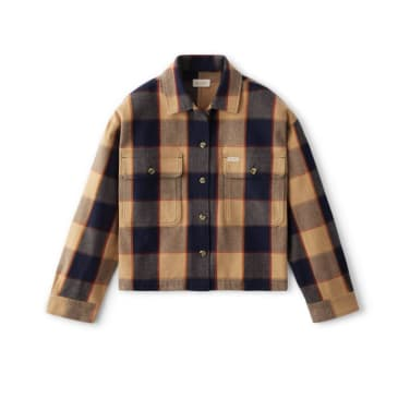 Brixton Womens Bowery Long Sleeve Flannel