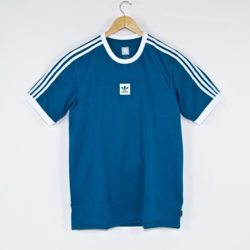 Adidas Skateboarding - Club Jersey - Active Teal / White