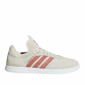 adidas Skateboarding Samba ADV Shoes - Clear Brown / Trace Scarlet