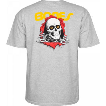 POWELL PERALTA Ripper Tee Athletic Heather