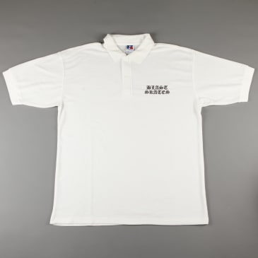 Blast 'Jake Snelling - Aggression Session' Polo Shirt (White)