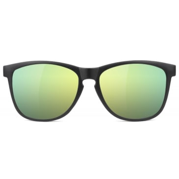 Glassy - Glassy Sunhaters Deric Cancer Hater Sunglasses | Black & Gold
