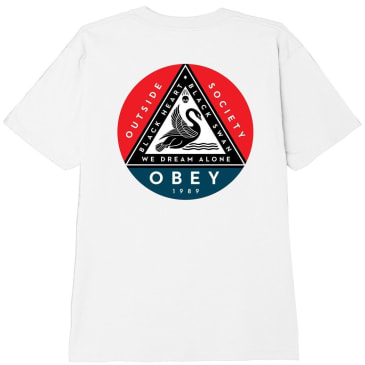 OBEY Black Swan Classic T-Shirt - White