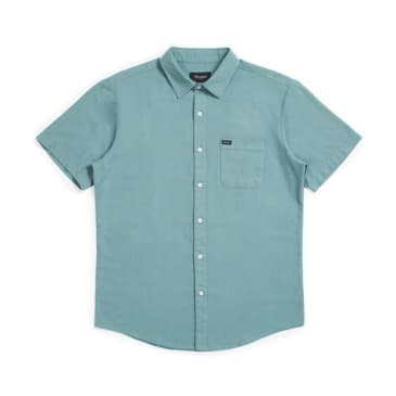 Brixton Charter Oxford Button Down Jade