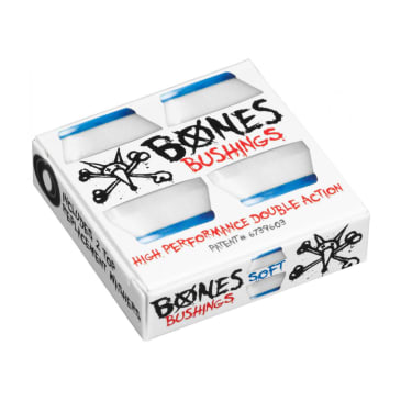 Bones Hardcore Bushings - Soft / Blue