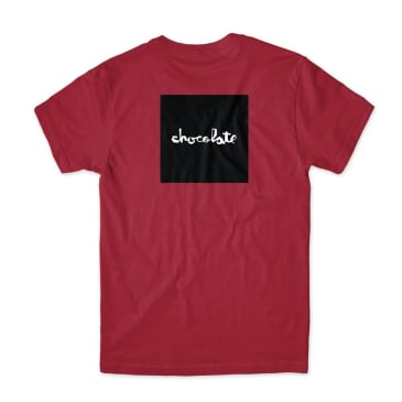 Chocolate Skateboards - Chocolate Square T-shirt