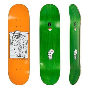 """Polar Skate Co Kind Of Nice Orange Skateboard Deck - 8.75"""""""