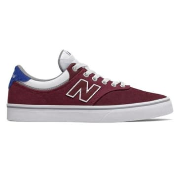 NB# 255 - BURGUNDY WHITE