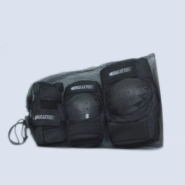 Bullet Combo Pad Set Junior Black