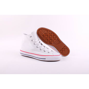 CONS CTAS Pro Hi Canvas White/Red