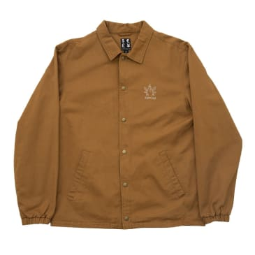 Bronze 56k Weed Finger Coach Jacket Hashbrown