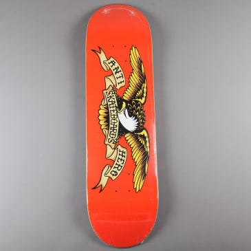 "Anti Hero 'Classic Eagle' 9"" Deck (Orange)"