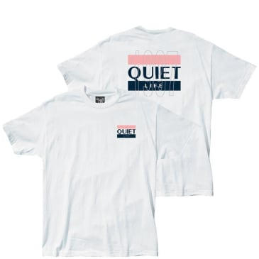 The Quiet Life The Quiet 97 Life Flag T-Shirt - White