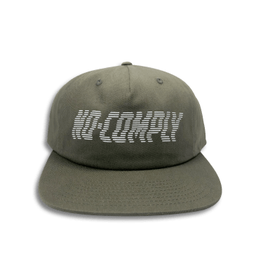 No-Comply Wavy Strap Back Buck