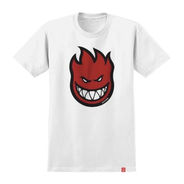Spitfire Bighead Fill T-Shirt - White/Red
