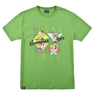 Helas Summer Jam T-Shirt Green
