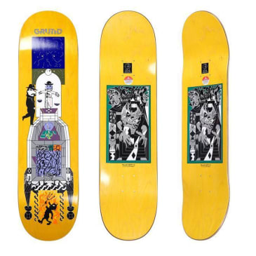 "Polar Skate Co ""Legacy"" Skateboard Deck 8.5"""