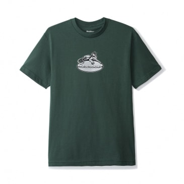 Butter Goods Cougar Badge Logo T-Shirt - Forest