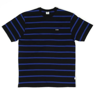 Civilist - Striped Tee - Black/Blue