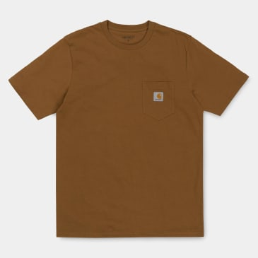 Carhartt WIP Pocket T-Shirt - Hamilton Brown