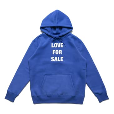 Chrystie NYC Love For Sale Pullover Hoodie - Blue
