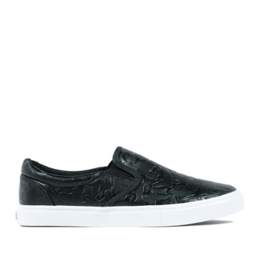 Ripndip Blackout Camo Slip On Skate Shoes