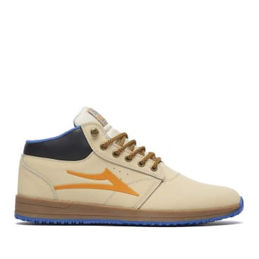 Lakai Griffin Mid All Weather Shoes - Tan / Nubuck