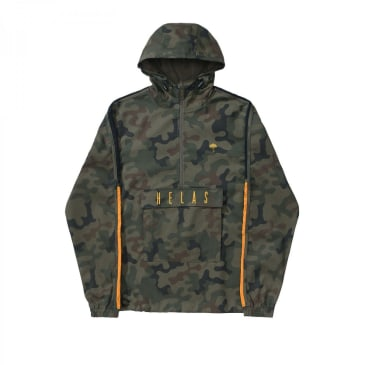 Helas Gang Hooded Jacket - Camo
