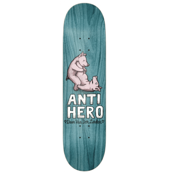 Anti-Hero Skateboards Deck Dann Lovers II (Various Wood Stains) 8.38""
