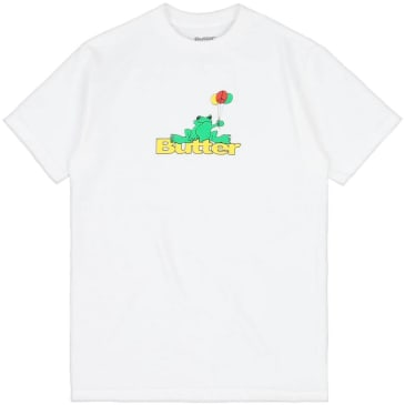 Butter Goods Frog T-Shirt - White
