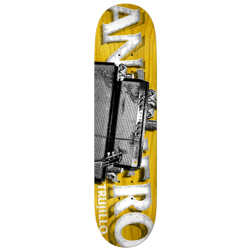 ANTIHERO Trujillo Turned Up Deck 8.12