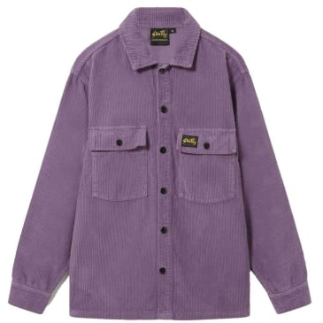 Stan Ray Cord CPO Shirt - Crushed Purple