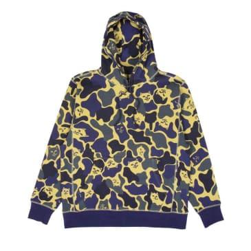 Rip N Dip Nerm Camo Pullover Hoodie - Tropic Camo