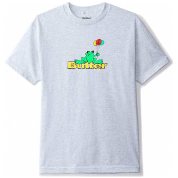 Butter Goods Frog T-Shirt - Ash Grey