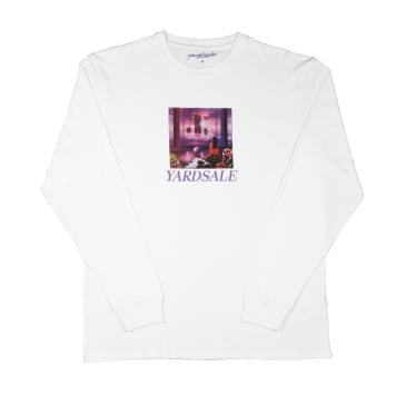 Yardsale New World Long Sleeve T-Shirt - White