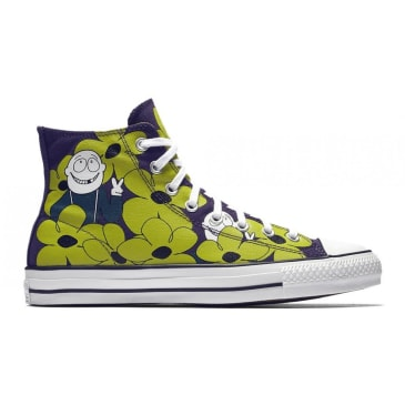CONVERSE CTAS PRO - DINOSAUR JR PURPLE GREEN WHITE