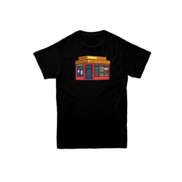 Cream Bodega Tee (Black)