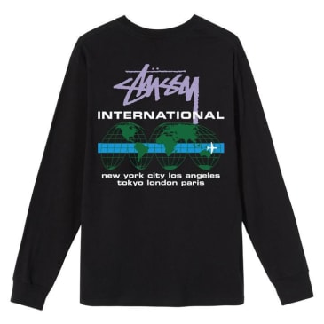 Stüssy - International LS T-Shirt