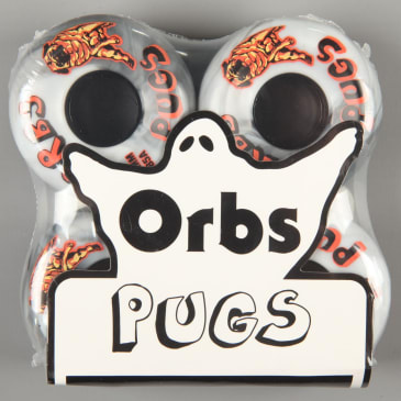Orbs 'Pugs' 54mm 85A Soft Wheels (Black / White Split)