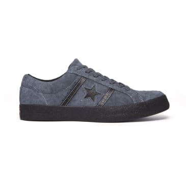 Converse Cons One Star Academy OX Skateboarding Shoes - Sharkskin/Black