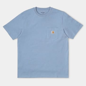 Carhartt WIP Pocket T-Shirt - Cold Blue