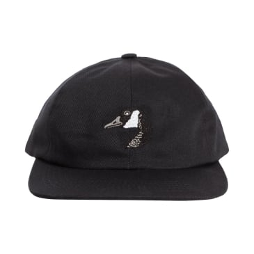 Grand Collection Goose Embroidered Cap Black