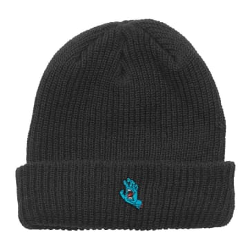 SANTA CRUZ Screaming Hand Beanie Black