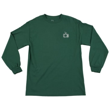 WKND TV L-S T-Shirt - Forest Green